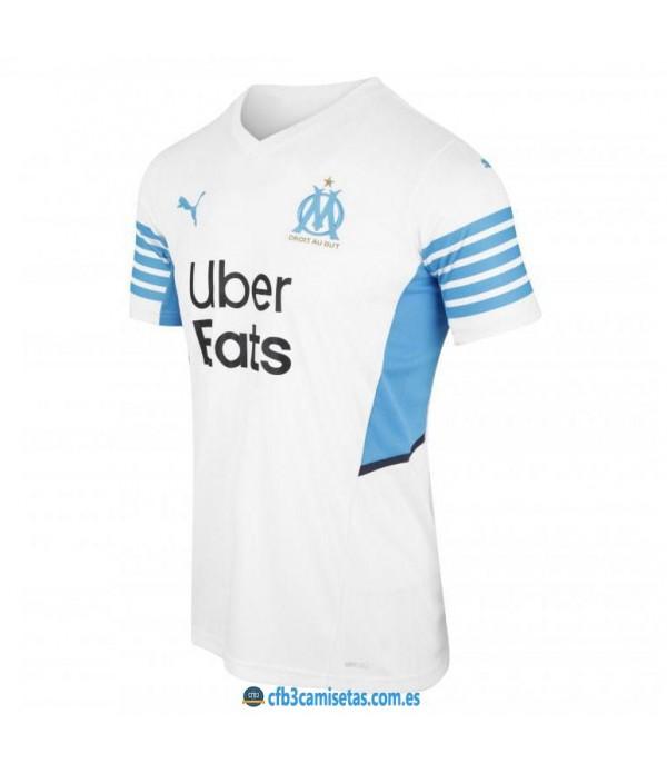 CFB3-Camisetas Olympique marsella 1a equipación 2021/22