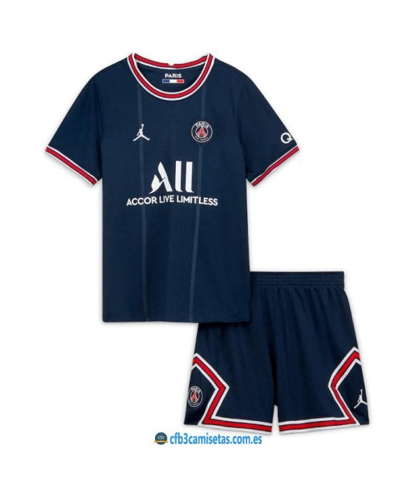 CFB3-Camisetas Psg 1a equipación 2021/22 - niÑos