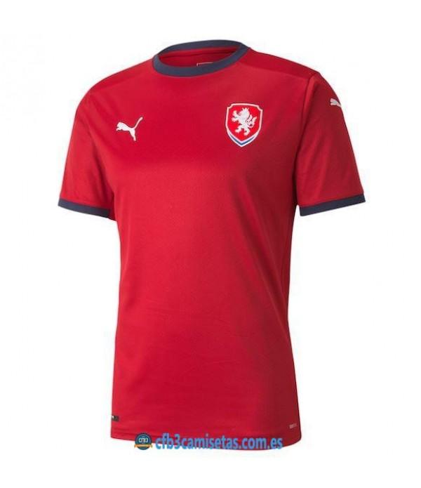 CFB3-Camisetas República checa 1a equipación 2021
