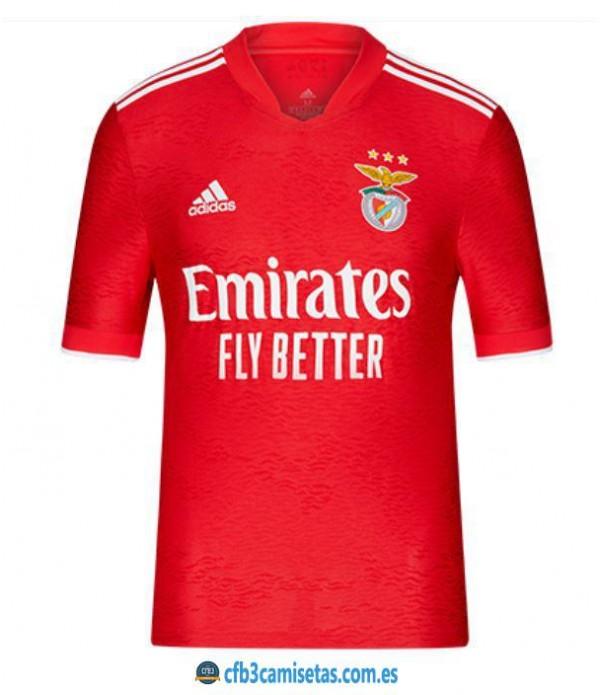 CFB3-Camisetas Benfica 1a equipación 2021/22