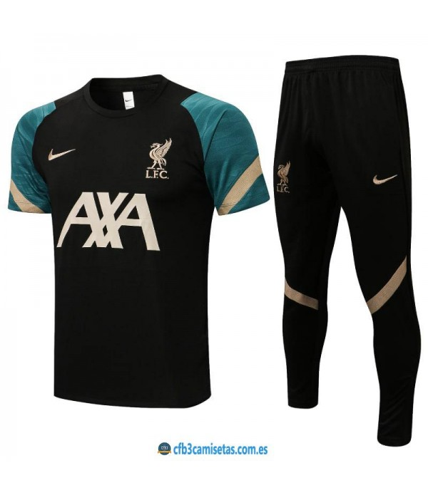 CFB3-Camisetas Camiseta pantalones liverpool 2021/22