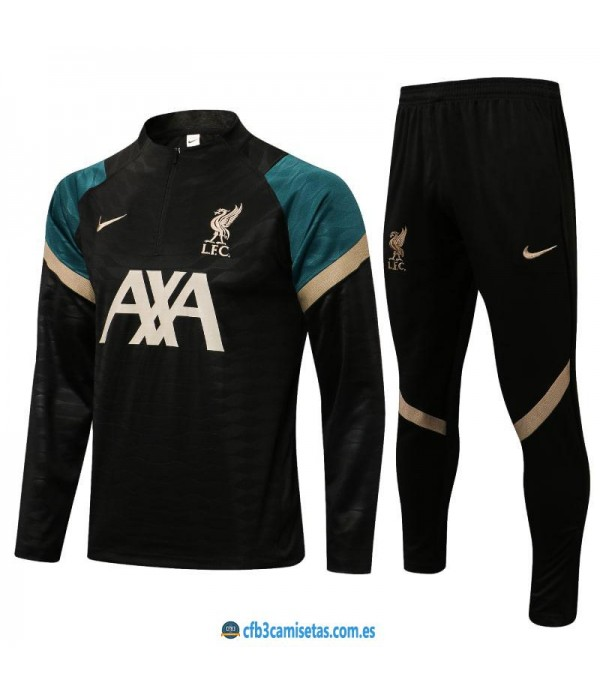 CFB3-Camisetas Chándal liverpool 2021/22