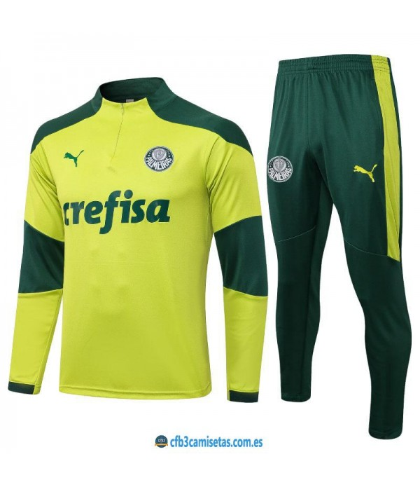 CFB3-Camisetas Chándal palmeiras 2021/22 verde