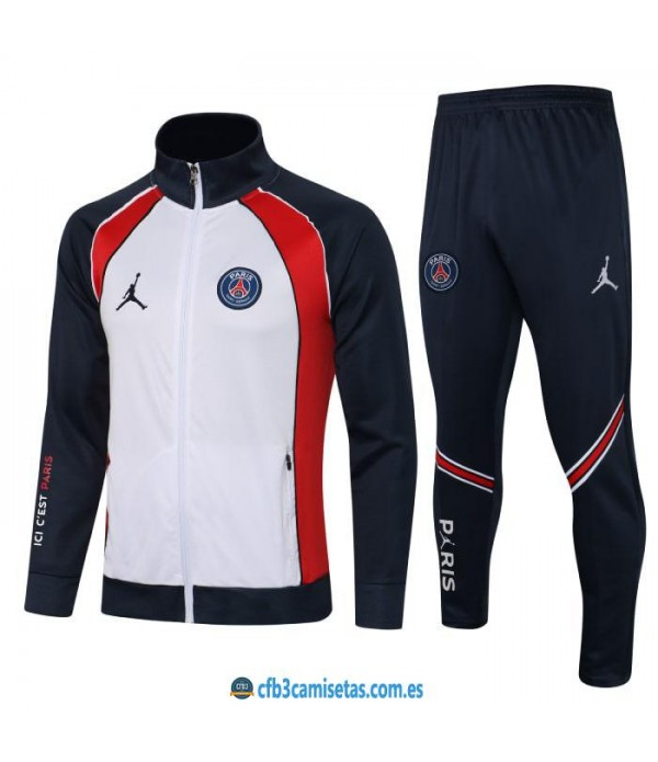 CFB3-Camisetas Chándal psg x jordan 2021/22