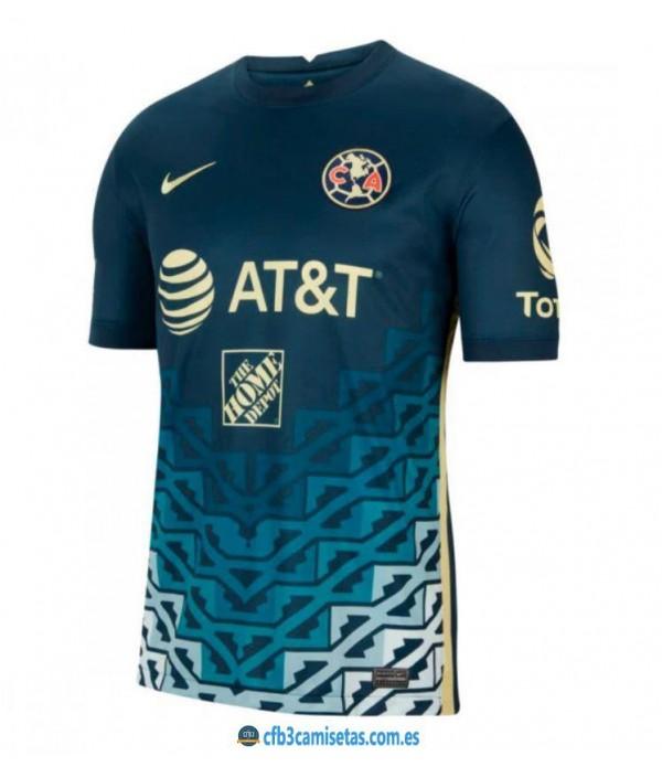 CFB3-Camisetas Club américa 2a equipación 2021/22