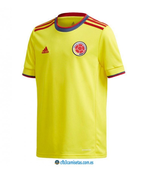 CFB3-Camisetas Colombia 1a equipación 2021/22