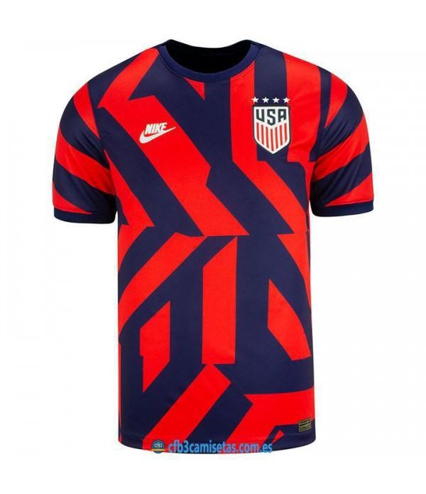 CFB3-Camisetas Eeuu uswnt 2a equipación 2021