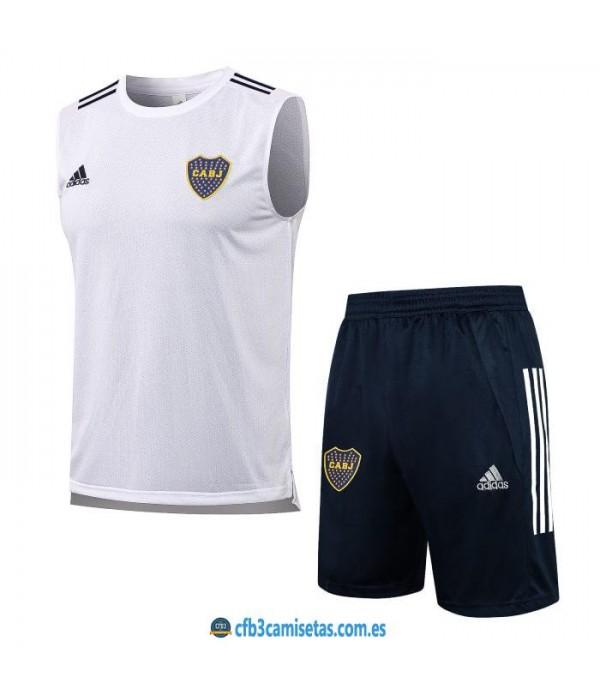 CFB3-Camisetas Kit entrenamiento boca juniors 2021/22