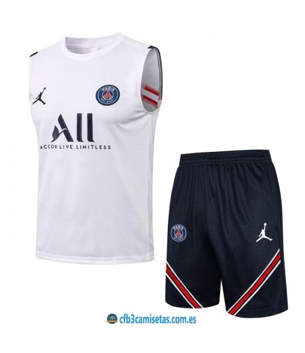 CFB3-Camisetas Kit entrenamiento psg 2021/22