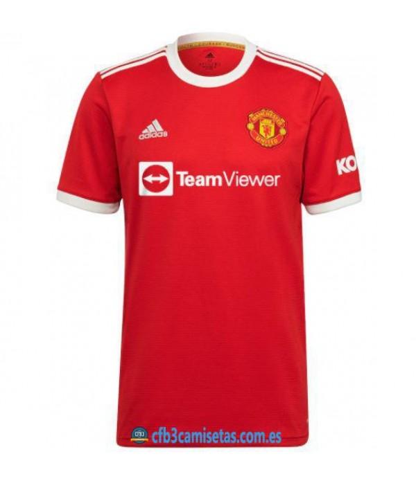 CFB3-Camisetas Manchester united 1a equipación 2021/22