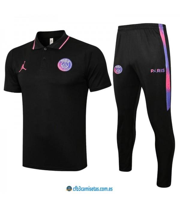 CFB3-Camisetas Polo pantalones psg 2021/22 - black