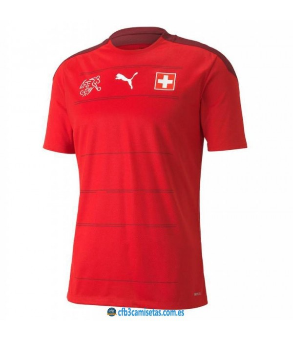CFB3-Camisetas Suiza 1a equipación 2021
