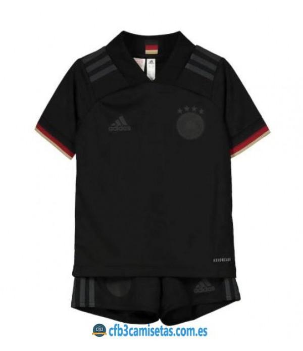 CFB3-Camisetas Alemania 2a equipación 2020/21 - niÑos