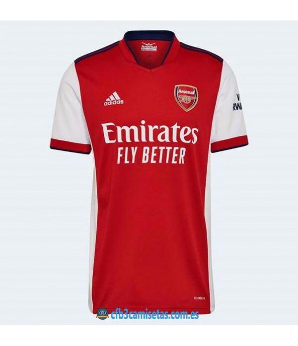 CFB3-Camisetas Arsenal 1a equipación 2021/22