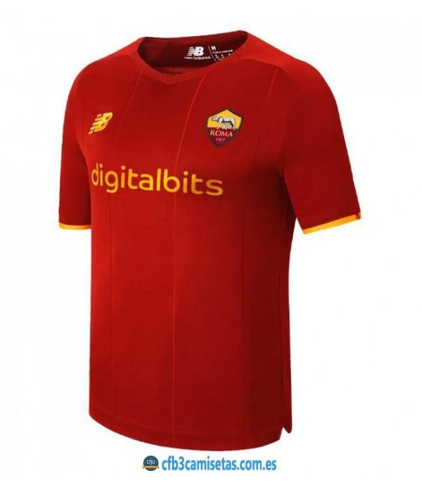 CFB3-Camisetas As roma 1a equipación 2021/22