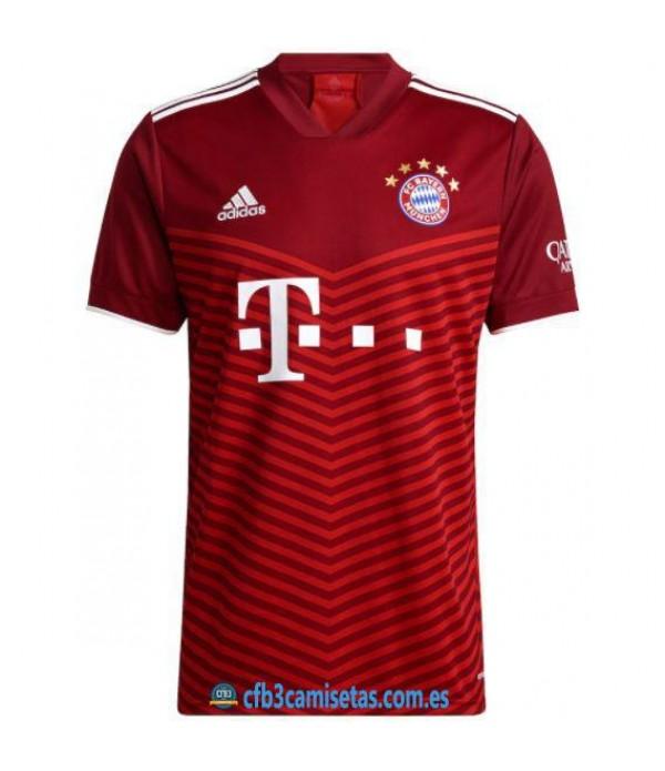 CFB3-Camisetas Bayern munich 1a equipación 2021/22
