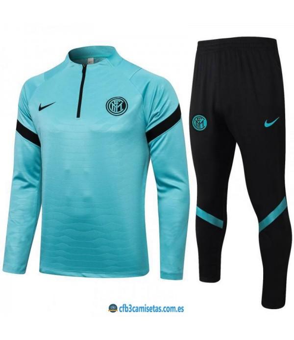 CFB3-Camisetas Chándal inter milán 2021/22 azul
