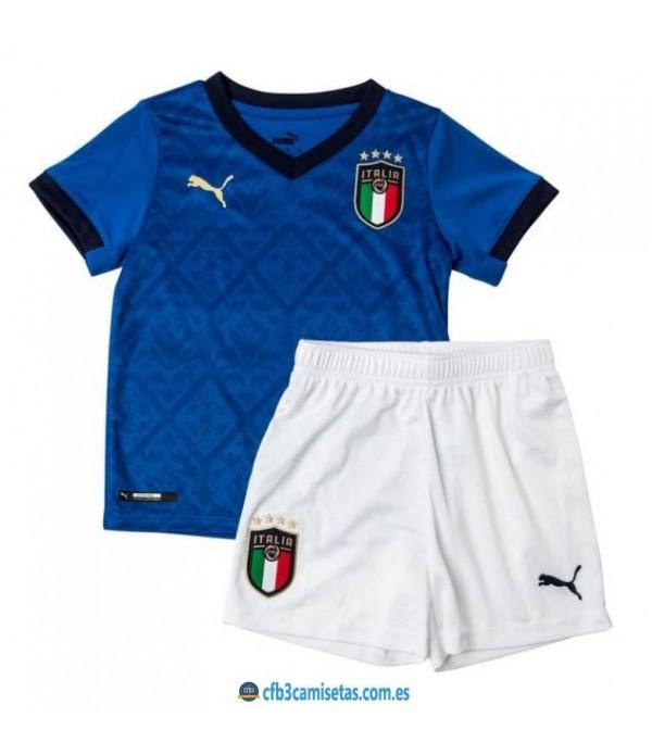 CFB3-Camisetas Italia 1a equipación 2020/21 - niÑos