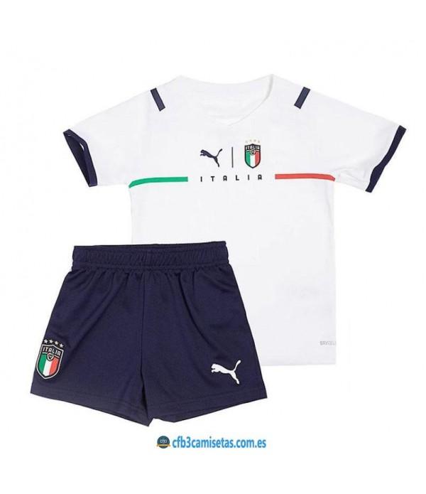 CFB3-Camisetas Italia 2a equipación 2020/21 - niÑos
