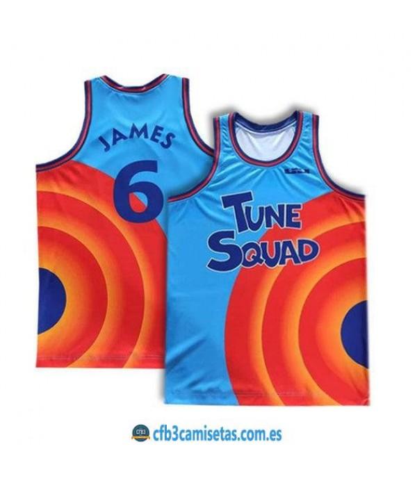 CFB3-Camisetas Lebron james tune squad space jam