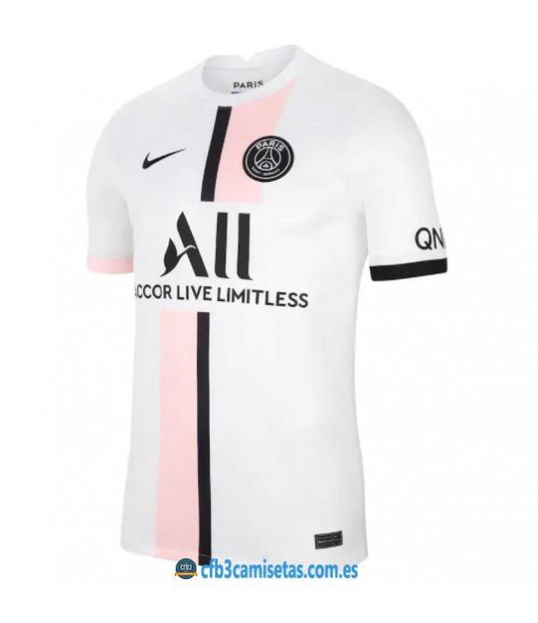 CFB3-Camisetas Psg 2a equipación 2021/22