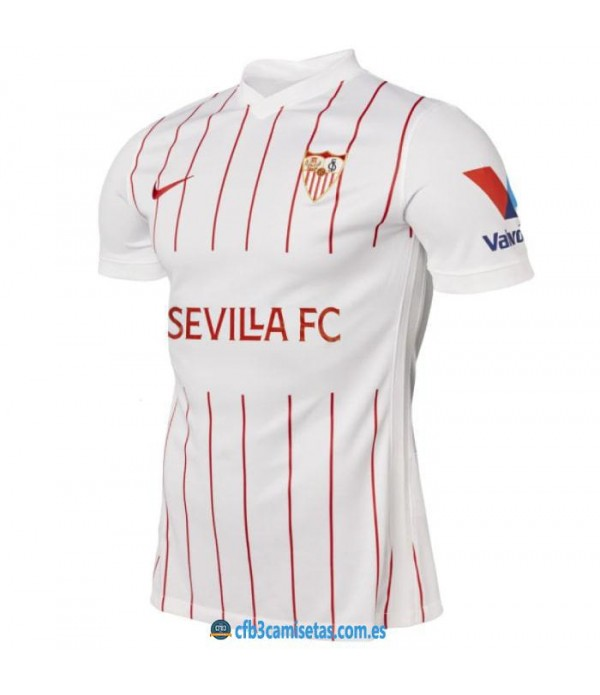 CFB3-Camisetas Sevilla 1a equipación 2021/22