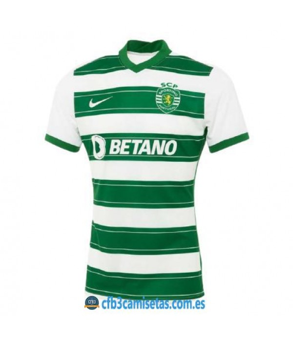 CFB3-Camisetas Sporting lisboa 1a equipación 2021/22