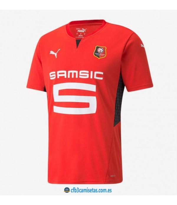 CFB3-Camisetas Stade rennais 1a equipación 2021/22