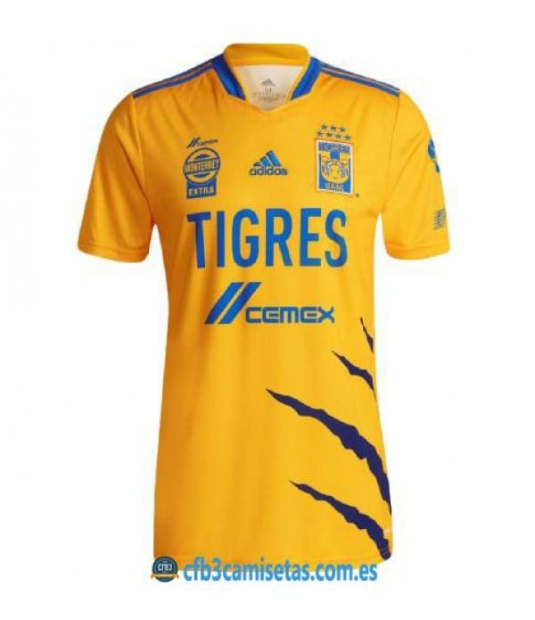 CFB3-Camisetas Tigres 1a equipación 2021/22