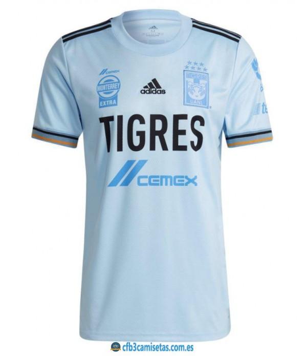 CFB3-Camisetas Tigres 2a equipación 2021/22