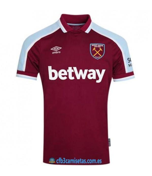 CFB3-Camisetas West ham united 1a equipación 2021/22
