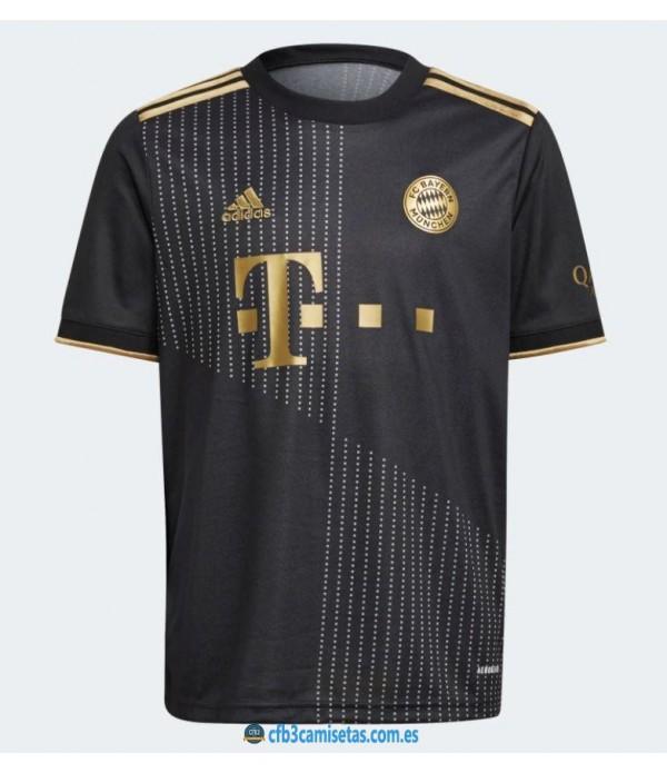 CFB3-Camisetas Bayern munich 2a equipación 2021/22 - authentic