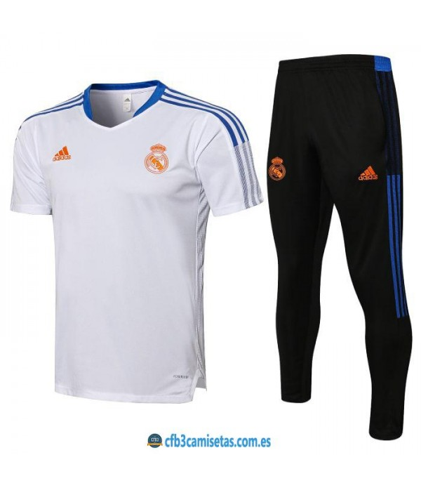 CFB3-Camisetas Camiseta pantalones real madrid 2021/22