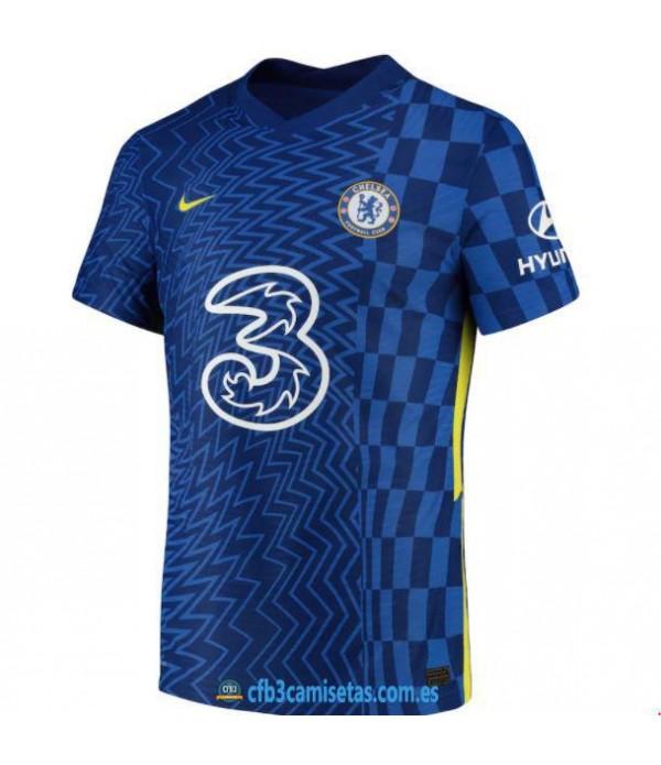 CFB3-Camisetas Chelsea 1a equipación 2021/22 - authentic