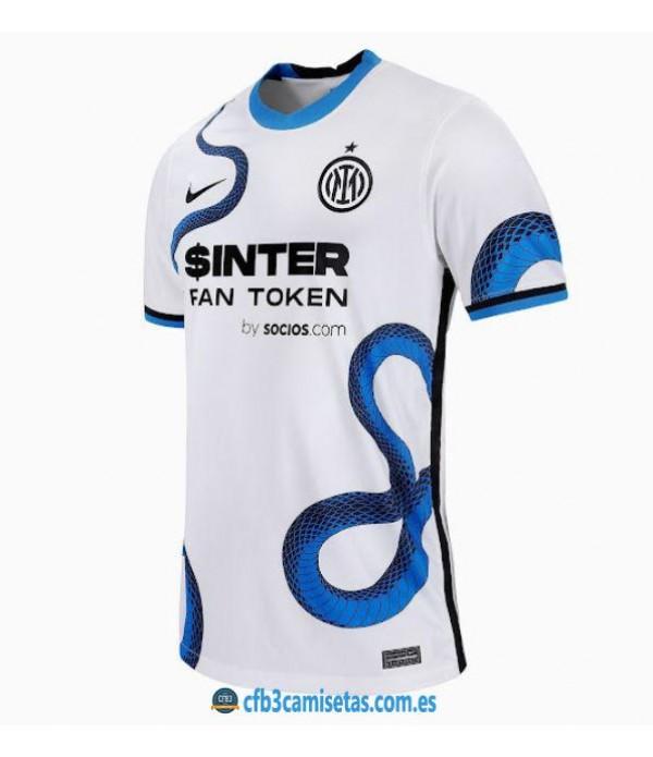CFB3-Camisetas Inter milan 2a equipación 2021/22