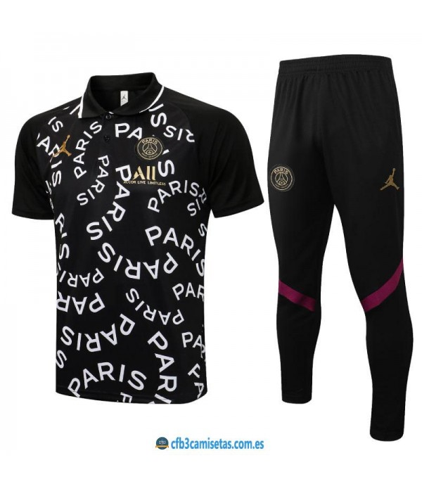 CFB3-Camisetas Polo pantalones psg x jordan 2021/22
