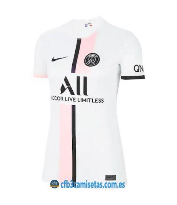 CFB3-Camisetas Psg 2a equipación 2021/22 - mujer