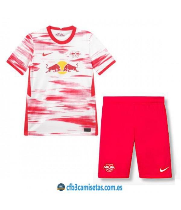 CFB3-Camisetas Rb leipzig 1a equipación 2021/22 - niÑos
