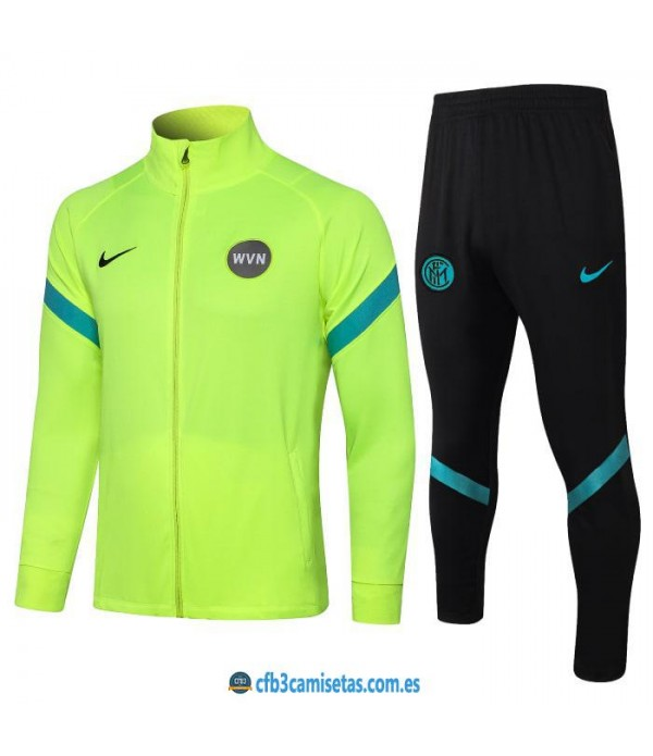 CFB3-Camisetas Chándal inter milán 2021/22 verde