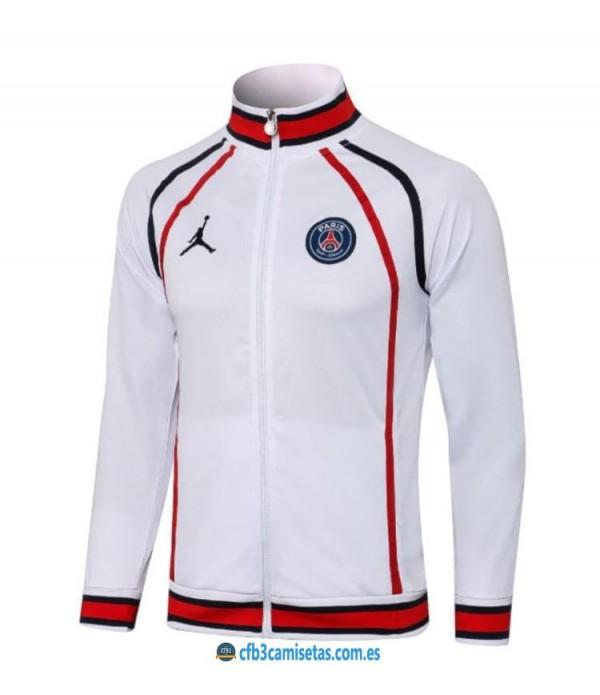 CFB3-Camisetas Chaqueta psg x jordan 2021/22