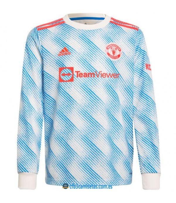 CFB3-Camisetas Manchester united 2a equipación 2021/22 ml