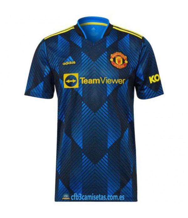 CFB3-Camisetas Manchester united 3a equipación 2021/22