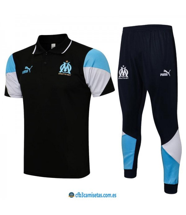 CFB3-Camisetas Polo pantalones olympique marsella 2021/22